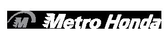 Metro Honda dealer logo