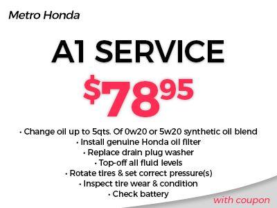 Service & Parts Coupons | Metro Honda